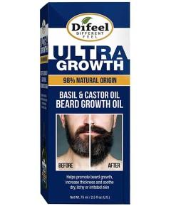 Ultra Growth Basil And Castor Beard Growth Oil