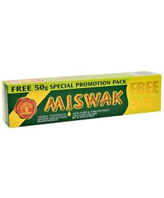 Miswak Herbal Toothpaste With Pure Miswak Extract