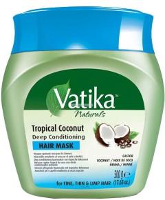 Vatika Naturals Tropical Coconut Deep Conditioning Hair Mask