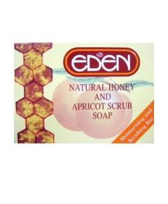 Eden Natural Honey And Apricot Scrub Soap