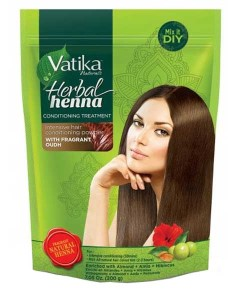Vatika Naturals Herbal Henna Conditioning Treatment With Oudh