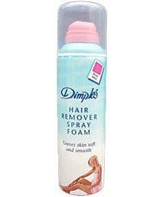 Dimples Hair Remover Spray Foam