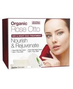 Rose Otto Nourish And Rejuvenate Duo Treatment