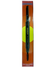 Eyecasions 2 In 1 Brow Definer And Brush 01 Black