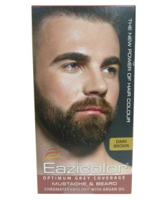 Eazicolor Mustache And Beard Color Dark Brown 3.0