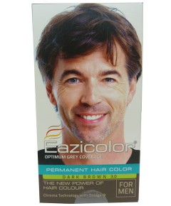 Eazicolor Permanent Hair Color Dark Brown 3.0
