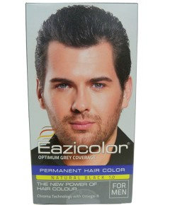 Eazicolor Permanent Hair Color Natural Black 1.0