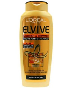 Elvive Nourish and Shimmer Highlights Shampoo