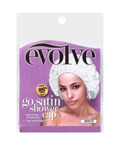 Evolve Go Satin Shower Cap