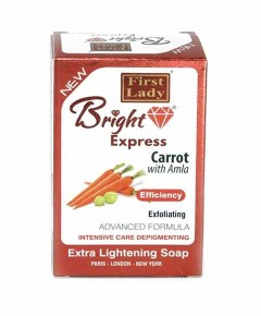 Bright Express Carrot With Amla Extra Lightening Soap
