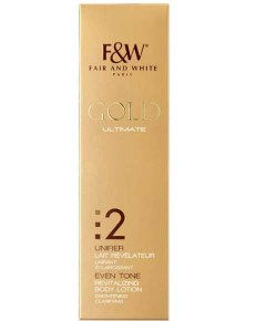 Gold Ultimate Even Tone Revitalizing Body Lotion