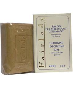 Fair Lady Lightening Exfoliating Soap