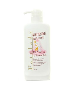 Whitening Body Lotion With UV Protection And Vitamin C Plus E