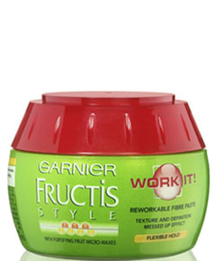 garnier fructis style surf hair texture paste garnier fructis fructis style work it reworkable fibre 2605