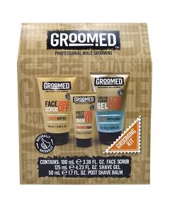 Groomed Professional Male Grooming Kit