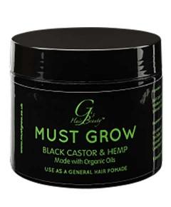 Must Grow Black Castor And Hemp Hair Pomade