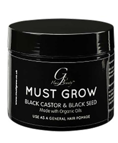 Must Grow Black Castor And Black Seed Pomade