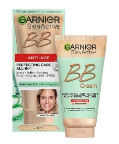 Skin Active Anti Age Perfecting Care All In 1 BB Cream Light