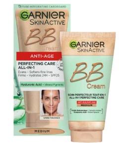 Skin Active Anti Age Perfecting Care All In 1 BB Cream Medium