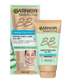 Skin Active Combination To Oily Skin Perfecting Care All In 1 Medium