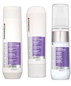 Dualsenses Blondes And Highlights Shampoo Conditioner And Serum Spray