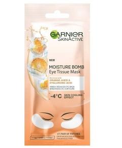 Skin Active Moisture Bomb Eye Tissue Mask With Orange Juice