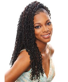 Glance Syn Diva Curl Braid