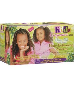 Kids Organics Olive Oil Hair Softening System