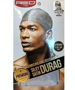 Silky Satin Durag Gray HDUP07