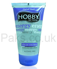 Hobby Hair Styling Energy Hair Gel