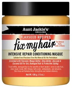 Aunt Jackies Fix My Hair Intensive Repair Conditioning Masque