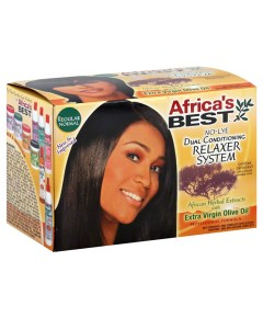 Africas Best No Lye Dual Conditioning Relaxer System