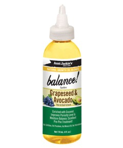 Aunt Jackies Balance With Grapeseed And Avocado Oil
