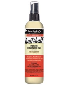 Aunt Jackies Half And Half Hydrating Silkening Hair Milk