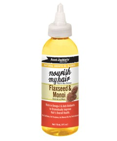 Aunt Jackies Nourish My Hair With Flaxseed And Monoi Oil