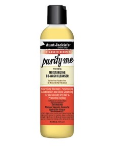 Aunt Jackies Purify Me Moisturizing Co Wash Cleanser