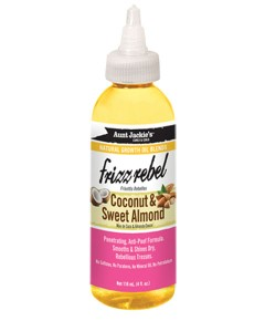 Aunt Jackies Frizz Rebel With Cocount Sweet Almond Oil
