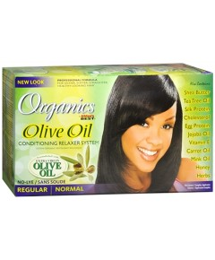 Organics Olive Oil No Lye Conditioning Relaxer