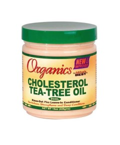 Organics Africas Best Cholesterol Tea Tree Oil Leave In Conditioner