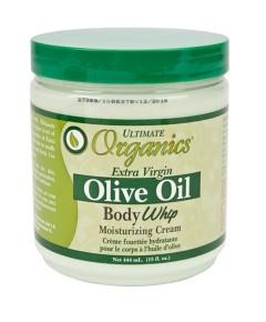 Ultimate Organics Olive Oil Body Whip Moisturising Cream