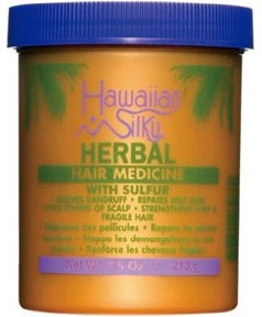 Hawaiian Silky Herbal Hair Medicine With Sulfur