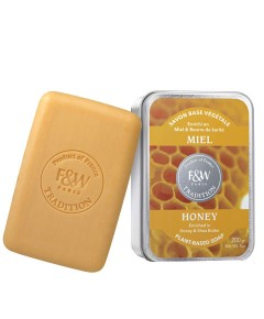 Tradition Plant Based Honey Soap