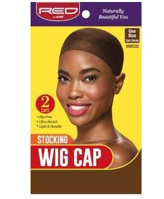 Stocking Wig Cap Dark Brown HWC02