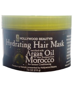Hollywood Baeuty Hydrating Hair Mask Enriched with Argan Oil
