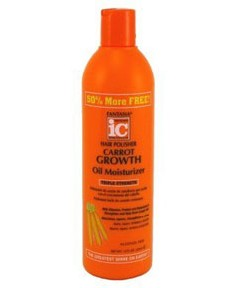 IC Fantasia Hair Polisher Carrot Growth Oil Moisturizer