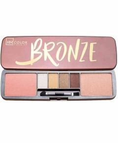 IDC Color Make Up Bronze Eyeshadow And Blusher Palette