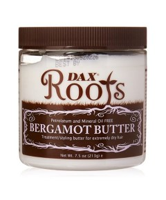 Dax Roots Petrolatum And Mineral Oil Free Bergamot Butter