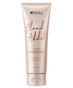 Blond Addict Pinkrose Shampoo Wash 1