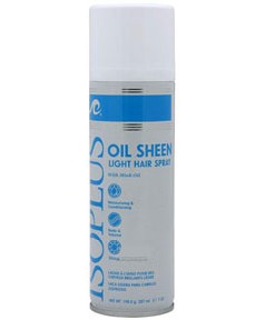 ISOPLUS Oil Sheen Light Hair Spray