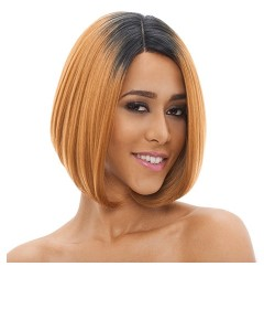 Natural Super Flow Deep Part Syn Lady Lace Wig